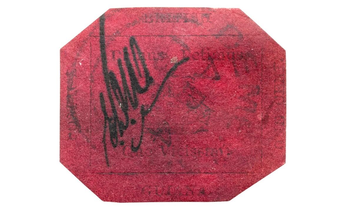 Valore del francobollo British Guiana One-Cent Magenta