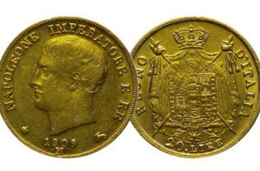 Valore del Marengo Napoleone Imperatore e Re