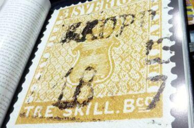Valore del francobollo Treskilling Yellow