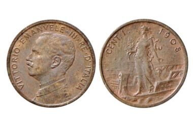Valore della moneta da 1 centesimo PRORA