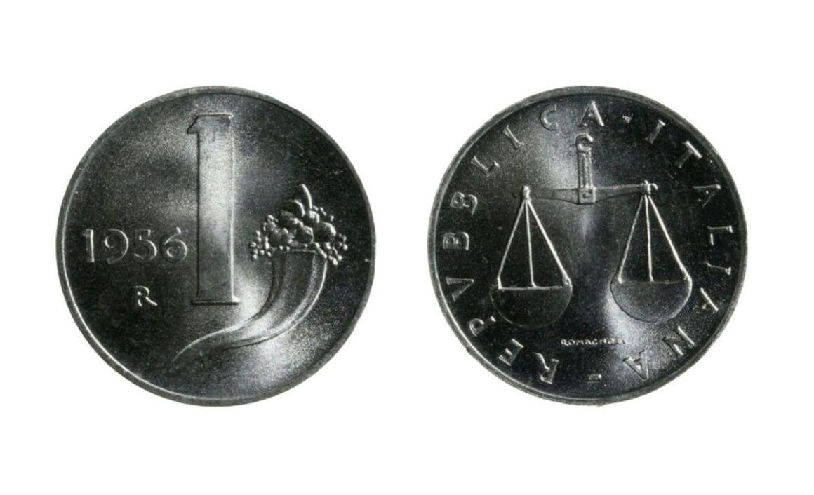Valore della moneta da 1 lira Cornucopia