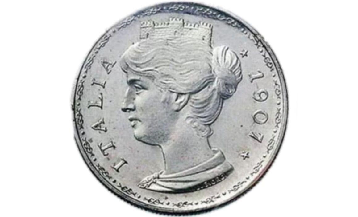 Valore moneta da 20 Centesimi 1907 PROGETTO