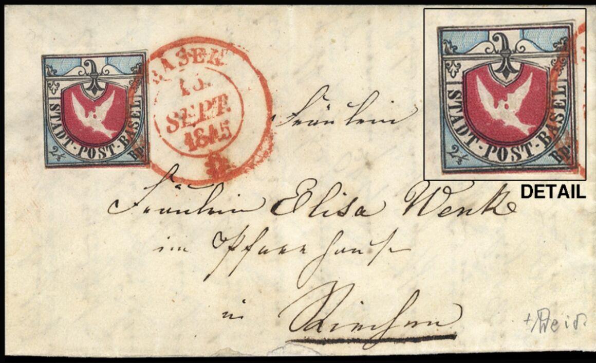 Valore francobollo Basel Dove