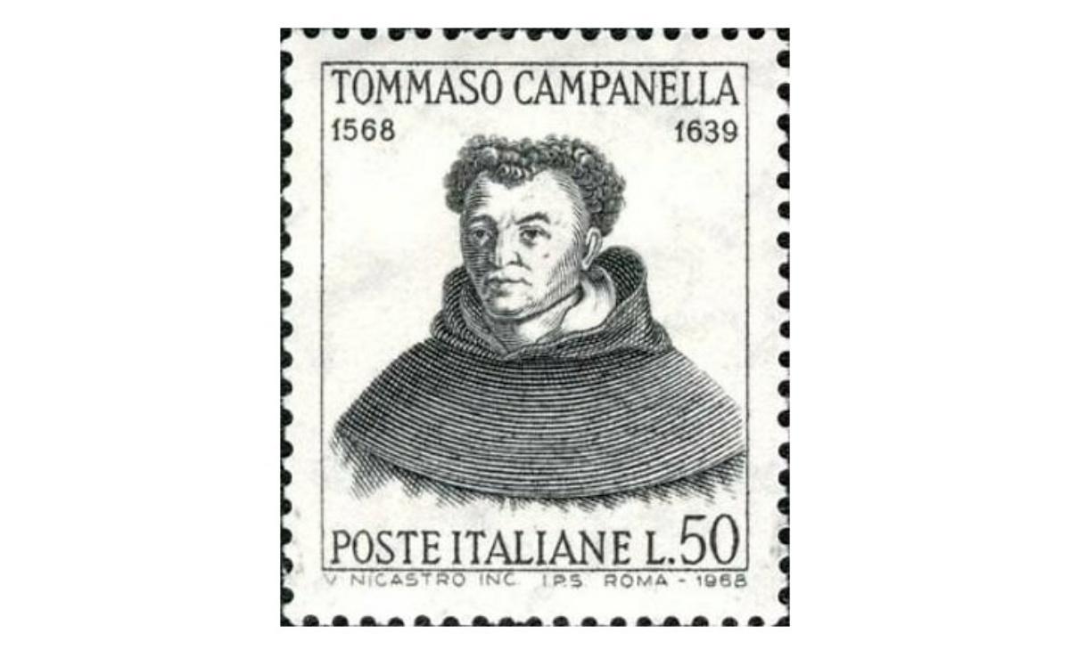 """Valore Francobollo """"Tommaso Campanella"""" 1968"""