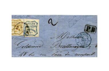 Valore del Francobollo da 80 centesimi del Ducato di Parma