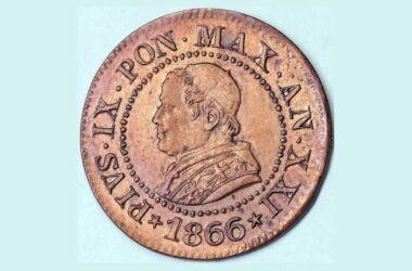 Valore moneta da 1 Centesimo Pio IX