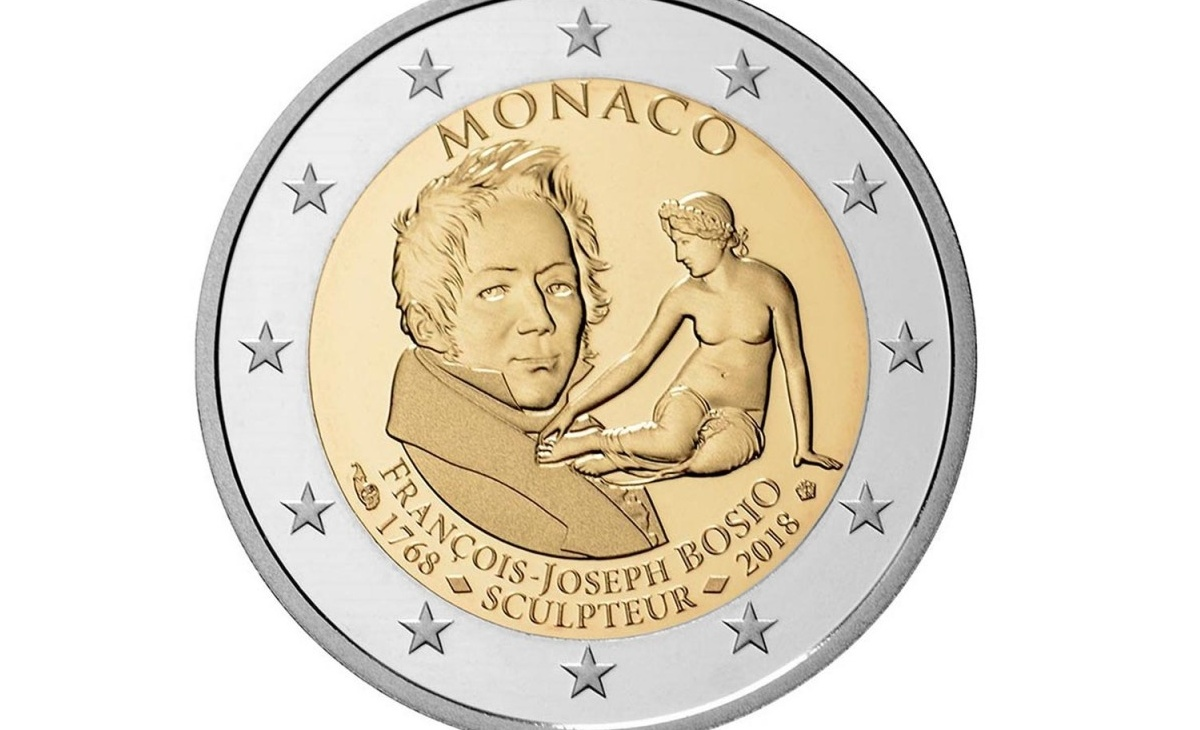 Caratteristiche dei 2 Euro Commemorativi Monaco 2018 – 250° anniversario nascita François-Joseph Bosio
