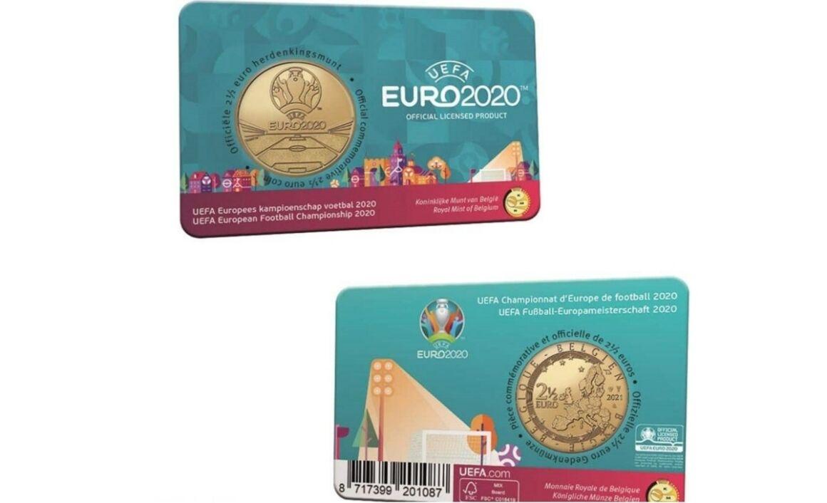 Caratteristiche moneta da 2,5 euro Belgio 2021 UEFA EURO 2020