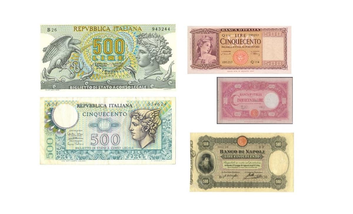 Valore delle 500 Lire di Carta