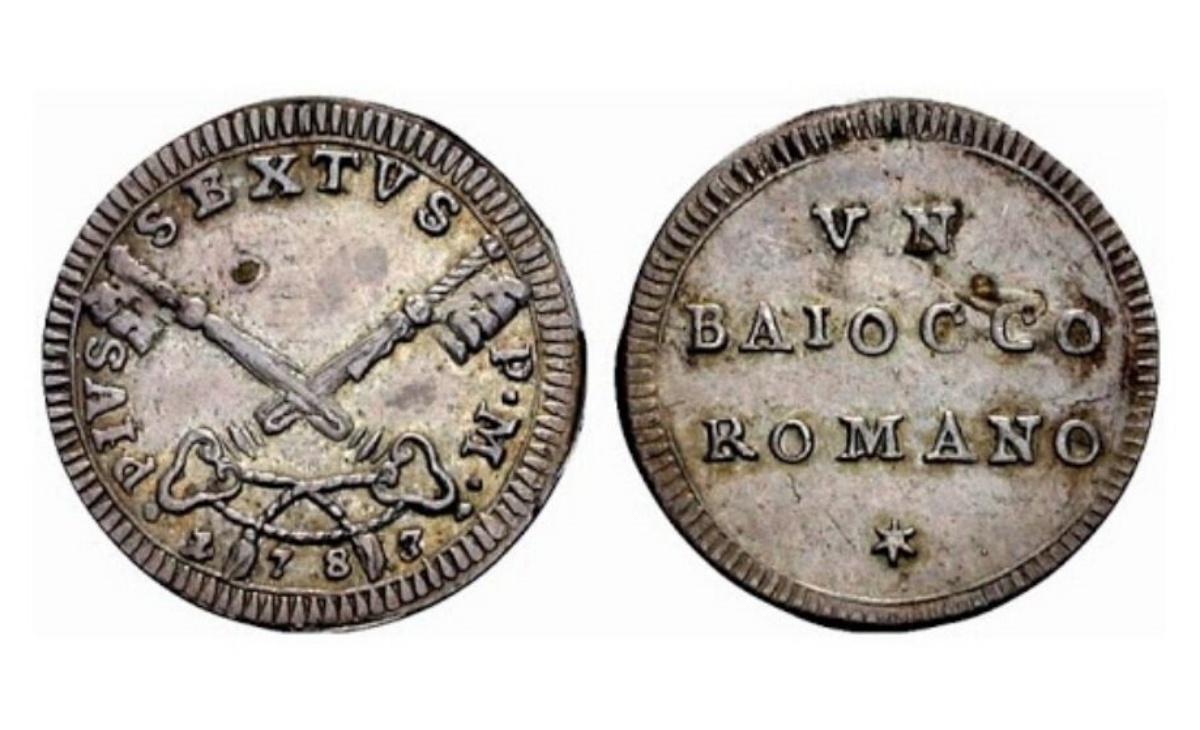 Valore del Baiocco Romano