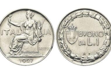 Valore e caratteristiche del Buono da 1 lira