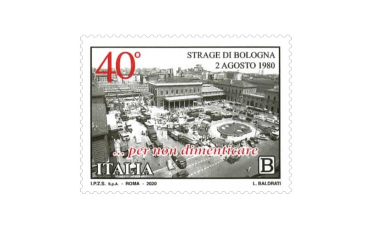 Caratteristiche del Francobollo Strage di Bologna