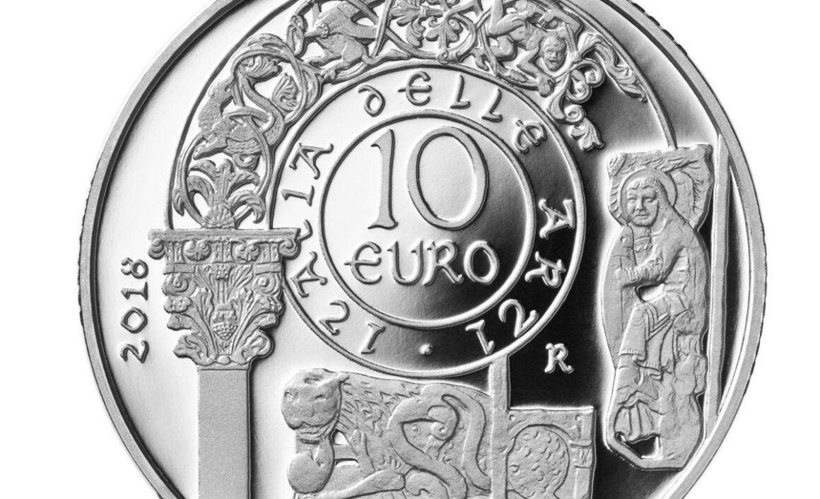 Caratteristiche moneta da 10 euro Cattedrale di Trani - Puglia Serie Italia delle Arti