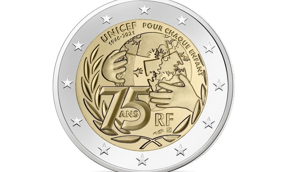 valore e caratteristiche 2 EURO UNICEF