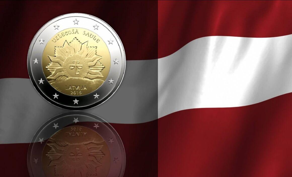 Caratteristiche e valore della moneta da 2 Euro Lettonia 2019 - Sole Nascente