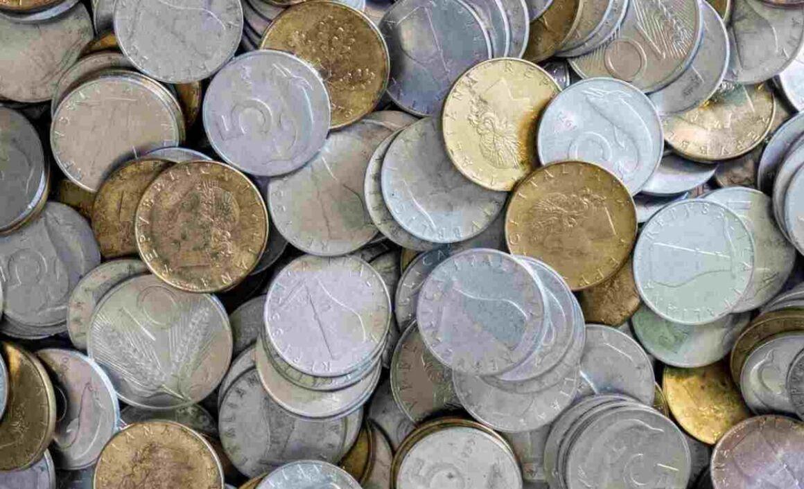 Valore moneta da 20 centesimi 1863 Stemma Vittorio Emanuele II