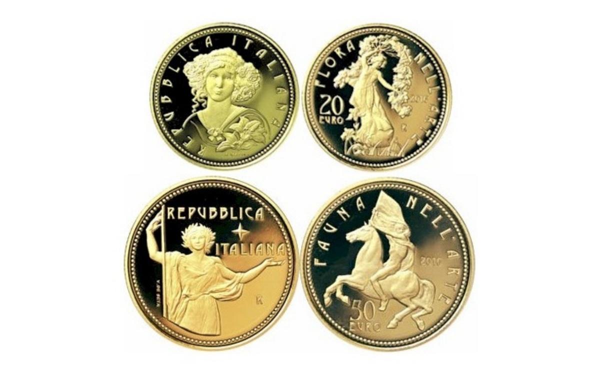 Valore della moneta da 20 euro Età contemporanea Serie Flora nell'Arte