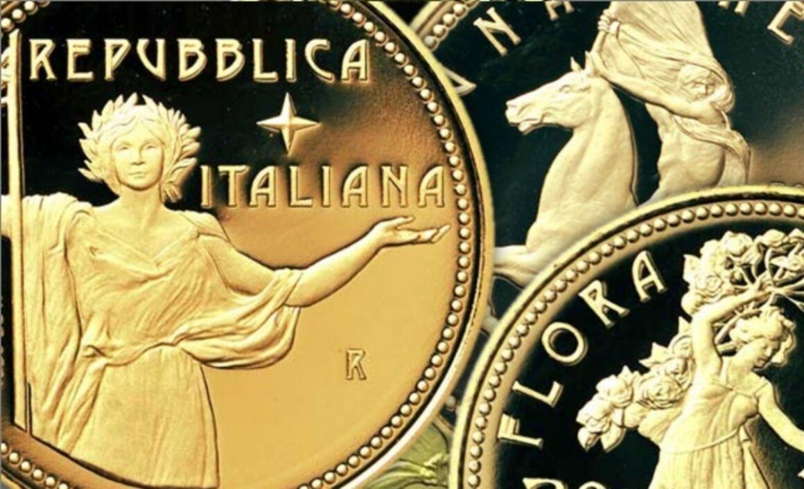 Valore moneta da 50 euro Età contemporanea Serie Fauna nell'Arte