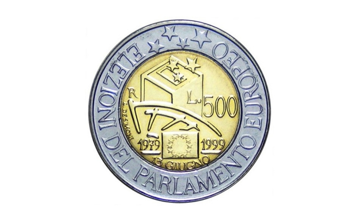 Valore moneta da ire 1999 – Elezioni Europee