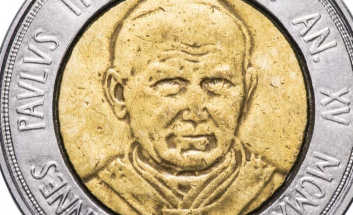 Valore moneta da 500 Lire Vaticano 1993 – PATER NOSTER