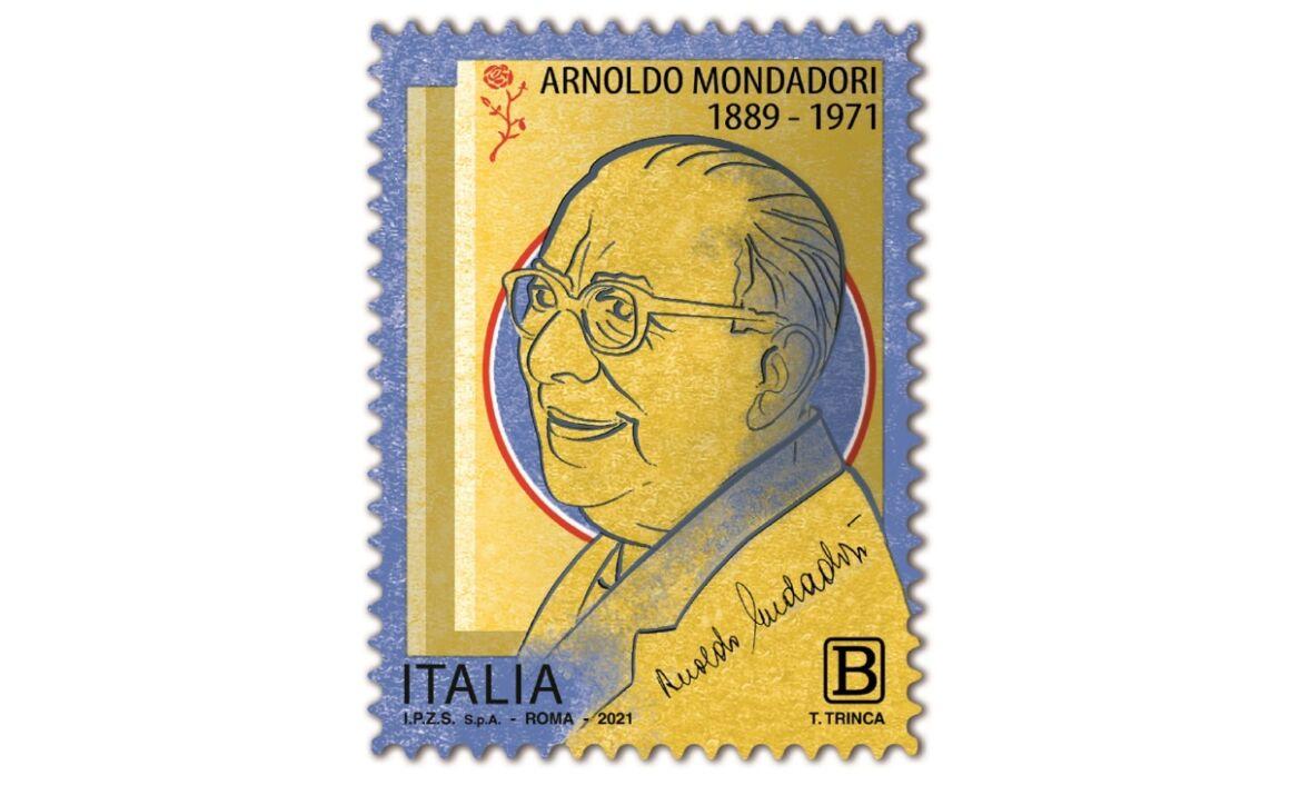 Valore Francobollo Arnoldo Mondadori