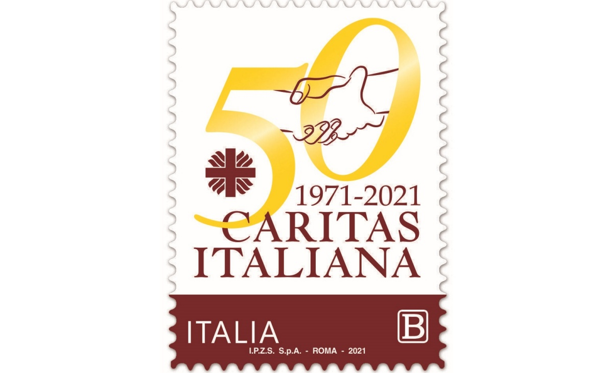 Valore e caratteristiche Francobollo Caritas Italiana