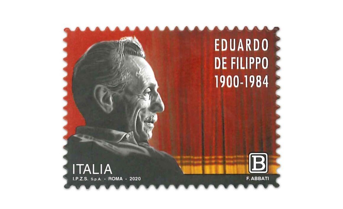 Valore e caratteristiche del Francobollo Eduardo De Filippo