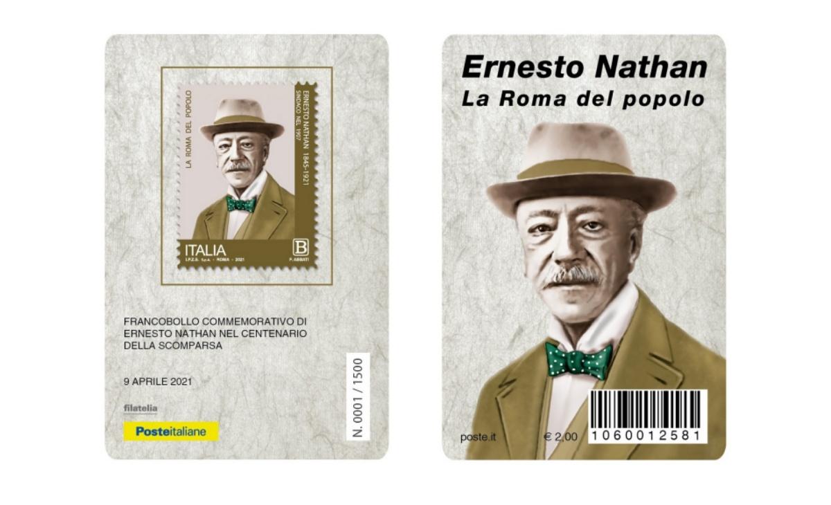 Caratteristiche del Francobollo Ernesto Nathan