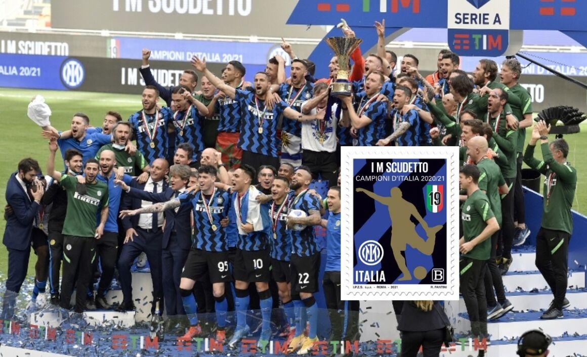 Caratteristiche francobollo Inter Campioni d'Italia