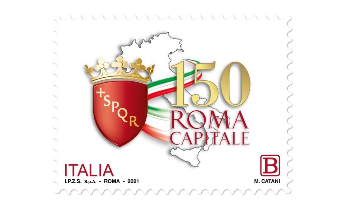 Caratteristiche Francobollo Roma Capitale d'Italia