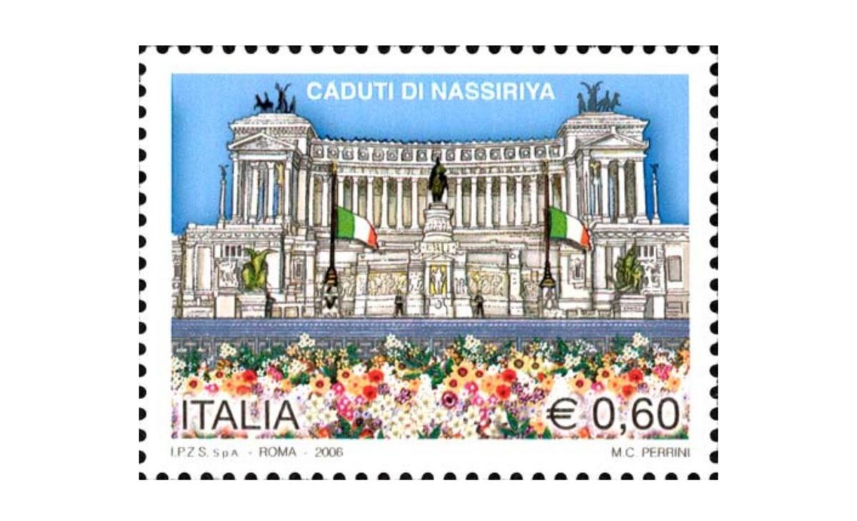 Valore e caratteristiche del francobollo caduti di Nassiriya