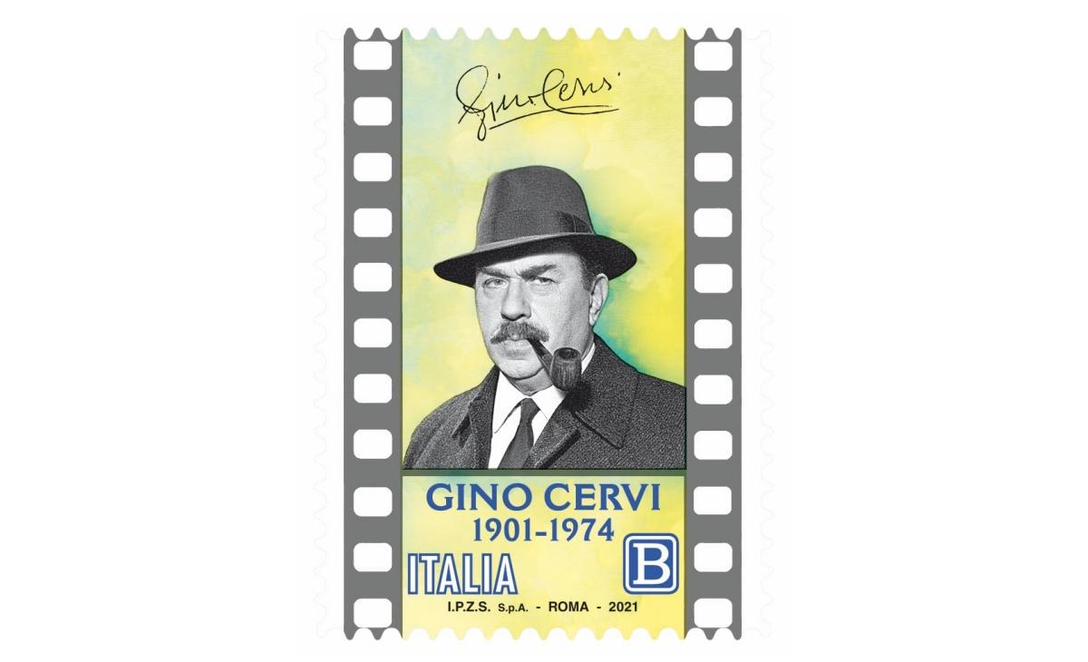 Francobollo Gino Cervi