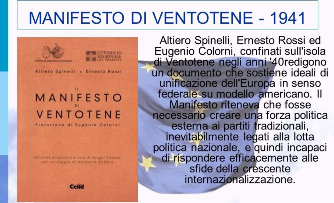 Francobollo Manifesto di Ventotene