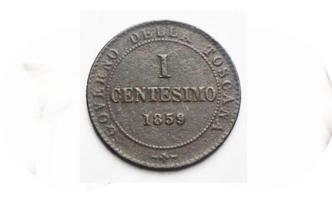 Valore moneta da 1 Centesimo Re Eletto