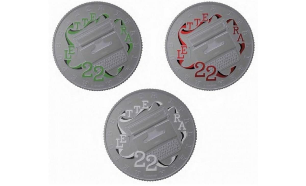 Caratteristiche moneta da 5 euro San Fruttuoso, Liguria Serie Italia delle Arti