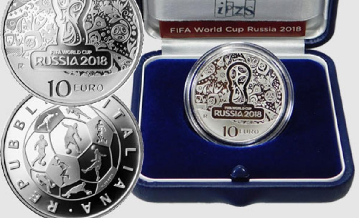 Prezzo e caratteristiche moneta da 10 euro FIFA World Cup Russia 2018™