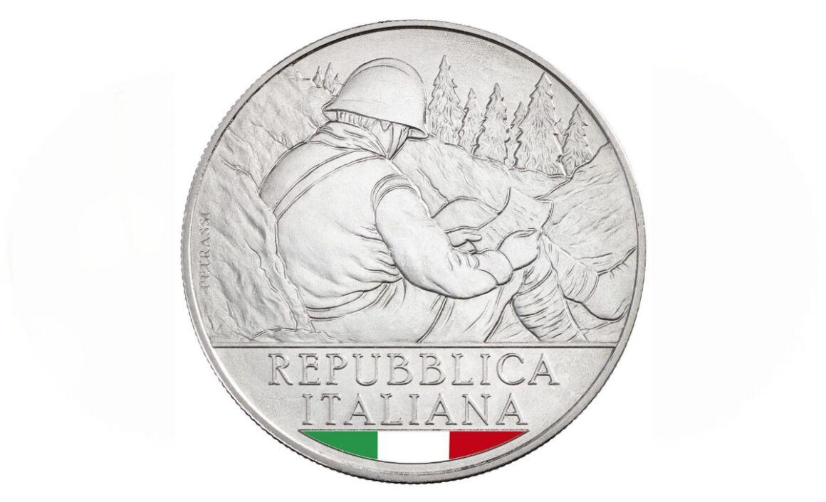 Valore moneta Centenario del Milite Ignoto 1921-2021