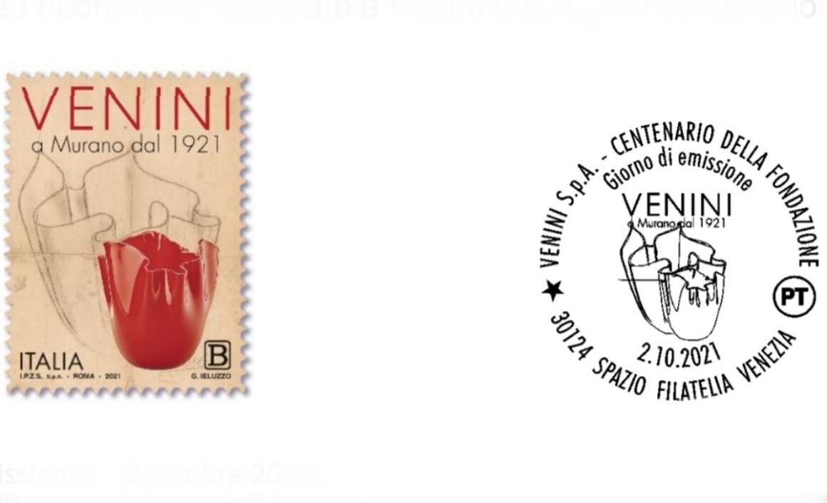 Caratteristiche e prezzo del Francobollo Venini S.p.A